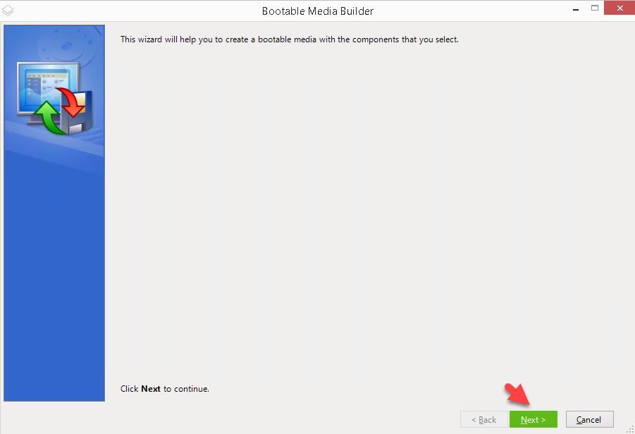Acronis Bootable Media Builder Hazılama İşlemi | Datakey